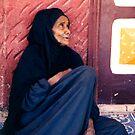 Nubian Woman by Mette  Spange