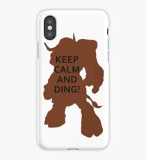 Big Cow Ding! iPhone Case/Skin