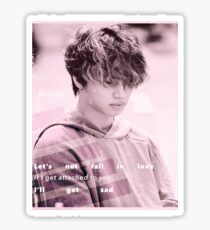 Daesung ~ Let's Not Fall in Love Sticker