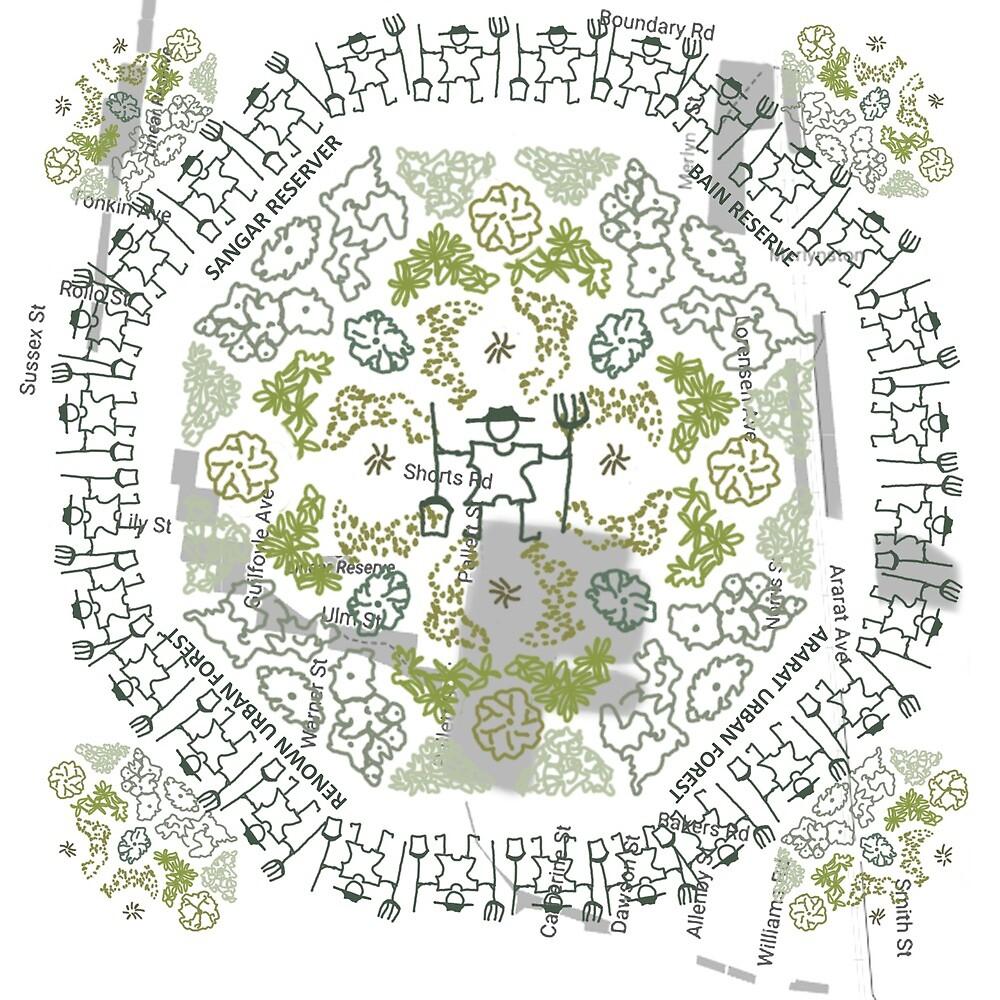 Greening Merlynston by Fern  Smith