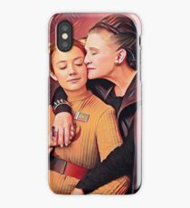 Carrie Fisher and Billie Lourd Vanity Fair iPhone Case/Skin