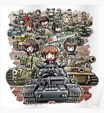 Girls und Panzer Crew Poster