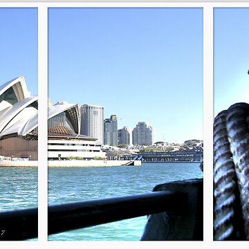 Sydney Opera House - Ferry by harryn