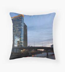 Downtown Osaka Throw Pillow