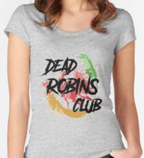 Dead Robins Club Women's Fitted Scoop T-Shirt