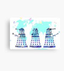 Daleks taking over! Canvas Print