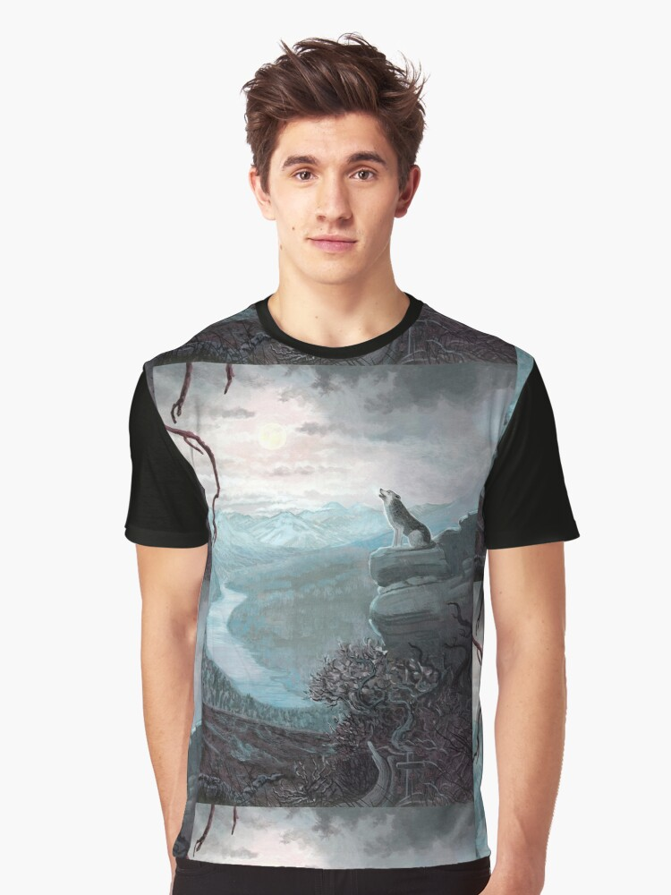 A Chilling Cry   Graphic T-Shirt Front