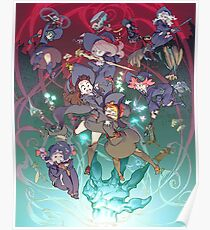 Little Witch Academia #01 Poster
