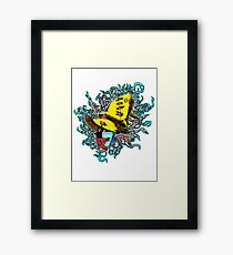 Maybe we don't exist... Framed Print