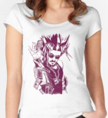 Yu-Gi-Oh #02 Women's Fitted Scoop T-Shirt