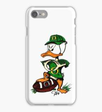 Oregon U of O Duck Making 'O' with Wings iPhone Case/Skin