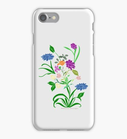 Bride to be  & flowers (5033 views) iPhone Case/Skin