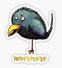 Creepy crow - Nevermore Sticker