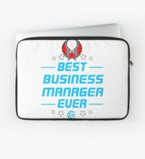 business manager - solve and travel design Laptop Sleeve