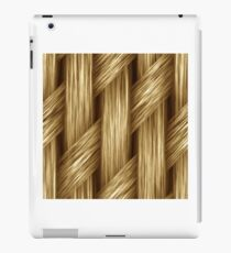 Knitted blond hair iPad Case/Skin