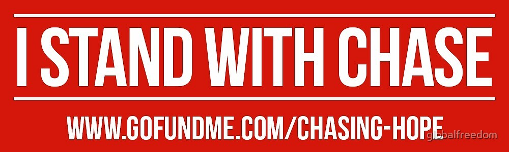 I Stand With Chase - Sticker by globalfreedom