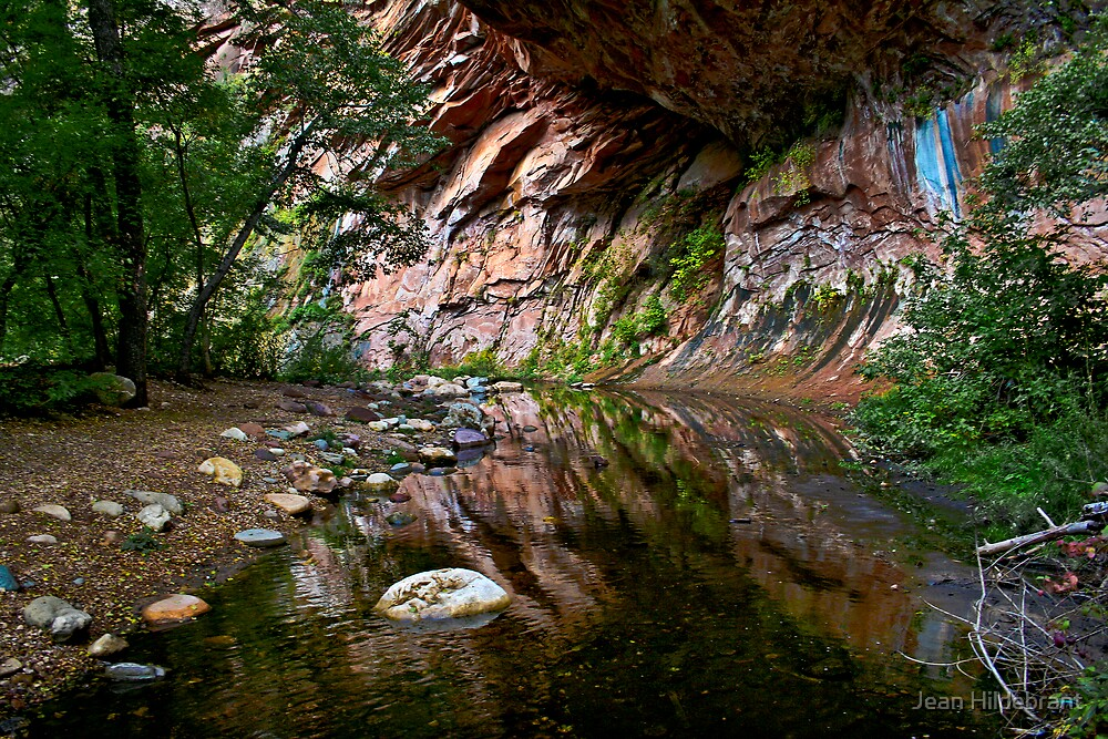 Stone Reflections by Jean Hildebrant