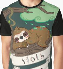 Be lazy Be Sloth ! Graphic T-Shirt