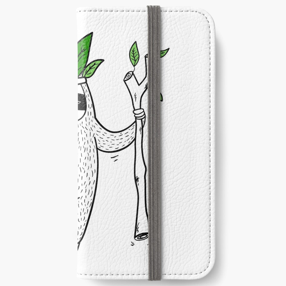 King of Sloth iPhone Wallet