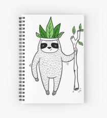 King of Sloth Spiral Notebook