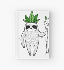 King of Sloth Hardcover Journal