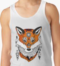 Fox Kopf Tanktop für Männer