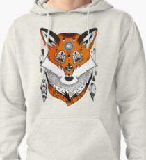Fox Head Pullover Hoodie