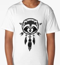 Raccoon Catcher Long T-Shirt