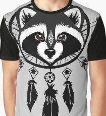 Raccoon Catcher Graphic T-Shirt