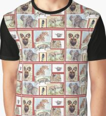 Lodge décor – South African wildlife collection Graphic T-Shirt