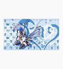 Aqua Theme Kingdom Hearts 2.8 Photographic Print