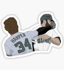 Harper punch Sticker