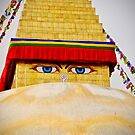 Boudhanath Stupa by Barbara  Brown