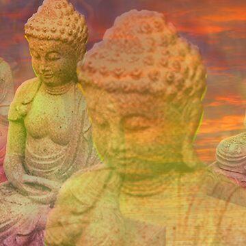 Buddha Sky by jonsanders