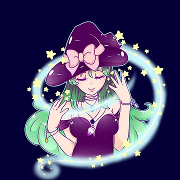 Starry Witch Magic  by ateliershoshi