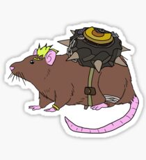 Explosive Rat Sticker