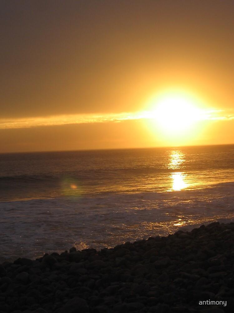 Malibu Sunset by antimony