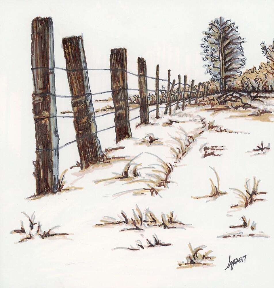Walnut Farm by The Art of Krista S. Payne