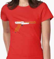 Classic Nintendo Zapper Womens Fitted T-Shirt