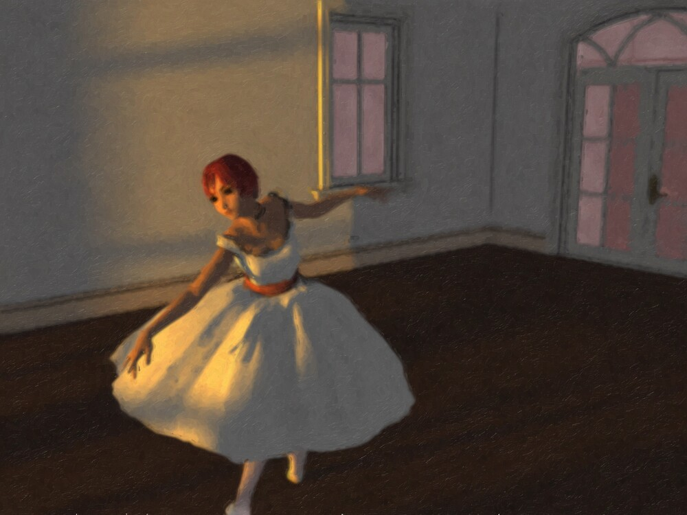 Dancer in the Room by Robert O'Neill