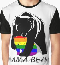 Camiseta gráfica Gay Pride Mama Bear
