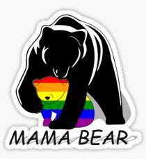 Gay Pride Mama Bear Sticker