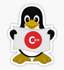 Delphi Linux  C++ Sticker