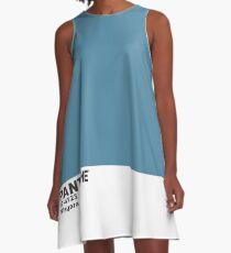 Pantone 2017 Color of the Year - Niagara A-Line Dress