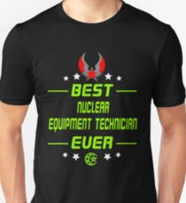 nuclear equipment technician - solve and travel design T-Shirt