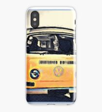 VW Home in motion iPhone Case/Skin