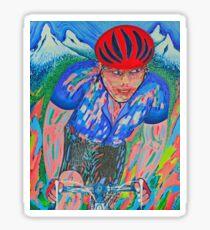 Mountain Trek King Of The Mountain Le Tour De France Sticker