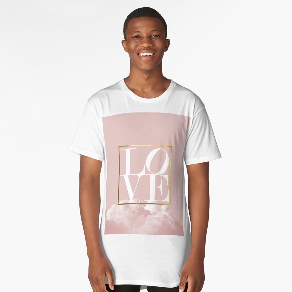 Love Long T-Shirt Front