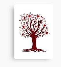 Heart Tree (2) Canvas Print