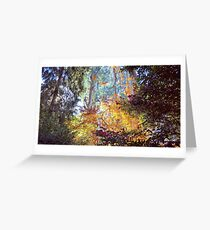 Autumn in the Dandenong Ranges: Sherbrooke, 2017 Greeting Card